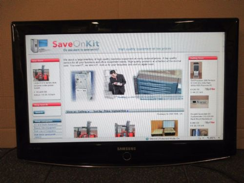 "Samsung LE-32R87BD 32"" 720p HD LCD Television Monitor Screen Black 150W PC HDMI"